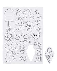 Magnets, size 14,85x21 cm, 1 sheet