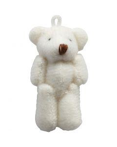 Mini Teddy, size 4x2,5 cm, 6 pc/ 1 pack