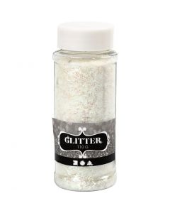 Glitter, crystal, 110 g/ 1 tub
