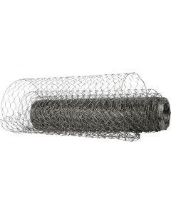 Wire Netting, W: 40 cm, 20 m/ 1 roll