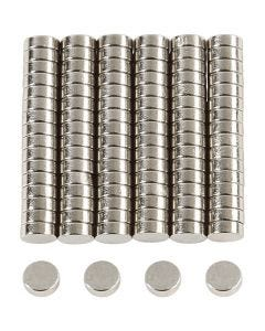 Power Magnets, D: 5 mm, thickness 2 mm, 100 pc/ 1 pack