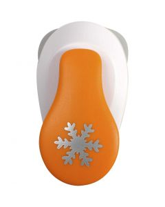Lever Punch, snowflake, D: 19 mm, size S , 1 pc
