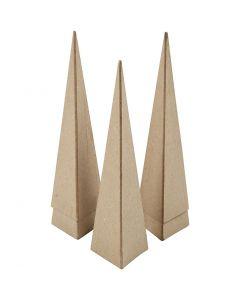 Cone, H: 20 cm, size 6x6x6 cm, 5 pc/ 1 pack