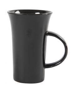 H: 15 cm, D: 9,5 cm, black, 6 pc/ 1 box