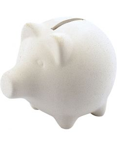 Piggy Bank, H: 9 cm, L: 11 cm, 10 pc/ 1 box