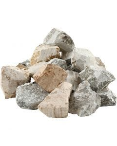 Soapstone, assorted colours, 10 kg/1 pack