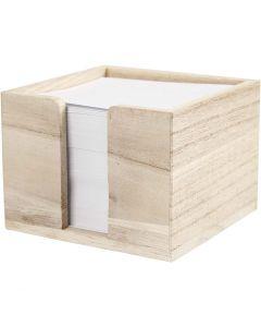 Paper Holder, size 9,5x9,5x7 cm, 1 pc