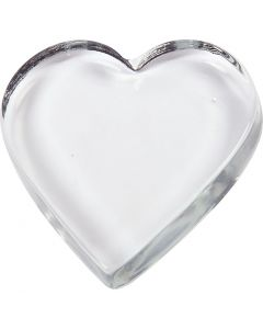 Heart, size 9x9 cm, thickness 15 mm, 10 pc/ 1 box
