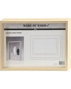 Double Frame, size 22,1x30,8 cm, 1 pc