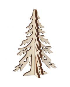 Christmas Tree, H: 12,5 cm, W: 8,5 cm, 1 pc