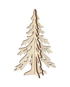 Christmas Tree, H: 20 cm, W: 13 cm, 1 pc