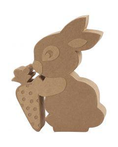 Rabbit, H: 18 cm, depth 2,5 cm, 1 pc