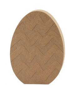 Egg, H: 18 cm, depth 2,5 cm, 1 pc