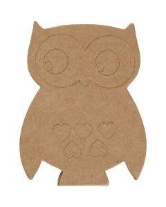 Owl, H: 18 cm, 1 pc