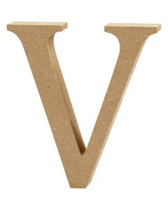 Letter, V, H: 13 cm, thickness 2 cm, 1 pc