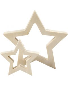 Stars, D: 9+16 cm, thickness 20 mm, 2 pc/ 1 pack