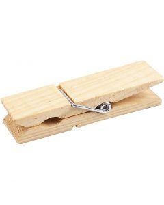 Wooden Peg, L: 7,2 cm, W: 2 cm, 4 pc/ 1 pack