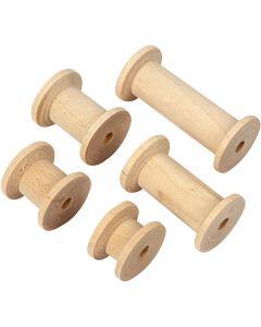 Spool, L: 15+20+27+38+50 mm, D: 24 mm, 10 pc/ 1 pack