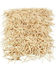 Matchsticks, L: 48 mm, D: 2 mm, 100 g/ 1 pack