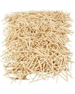 Matchsticks, L: 48 mm, D: 2 mm, 1 kg