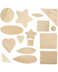 Mosaics, size 1,3-5,5 cm, 60 pc/ 1 pack