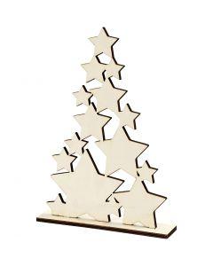 Christmas Tree, H: 29,8 cm, W: 21,5 cm, 1 pc