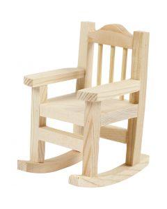 Rocking Chair, H: 8,8 cm, W: 5,5 cm, 1 pc