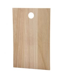 Wooden slab, size 35x22 cm, thickness 13 mm, 1 pc