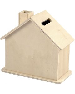 Money Box, size 10,1x10x5,4 cm, 1 pc