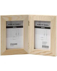 Double Frame, size 2x(14,7x10,5) cm, 1 pc