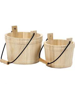 Bowl With Handle, size 16x17 cm, 2 pc/ 1 set