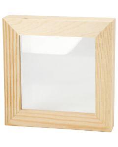 3D Frame , size 12,3x12,3 cm, 1 pc