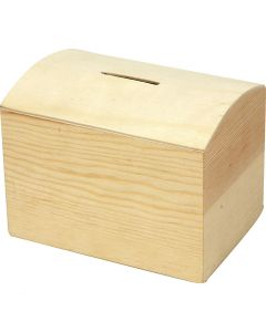Money Box, size 10x8x7 cm, 1 pc