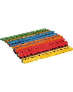 L: 11,4 cm, W: 10 mm, assorted colours, 30 pc/ 1 pack