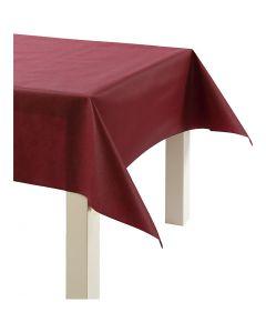 Imitation Fabric Table Cloth, W: 125 cm, 70 g, claret, 10 m/ 1 roll