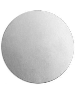 Metal Tag, Round, D: 20 mm, thickness 1,3 mm, aluminum, 15 pc/ 1 pack