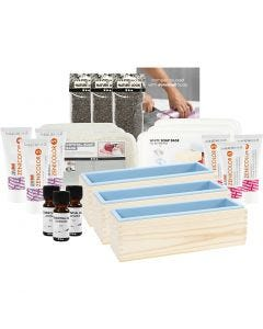 Soap Making + 25 postcards for free, 1 pack
