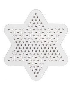 Peg Board, D: 10 cm, transparent, 1 pc