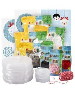 Class set for polar animals of fuse beads, 1 set