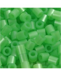PhotoPearls, size 5x5 mm, hole size 2,5 mm, green mother-of-pearl (22), 6000 pc/ 1 pack