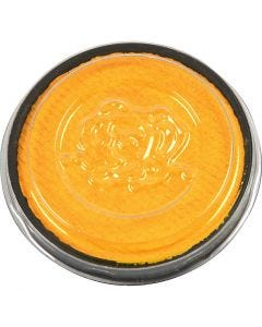 Water-based Face Paint, yellow, 3,5 ml/ 1 pack