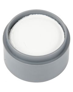 Water-based Face Paint, white, 15 ml/ 1 tub
