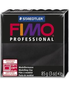 FIMO® Professional Jewellery Clay, black, 85 g/ 1 pack