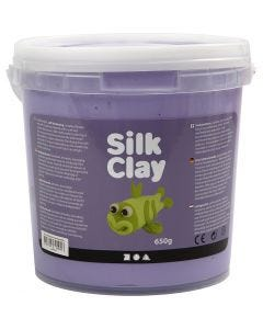 Silk Clay®, purple, 650 g/ 1 bucket