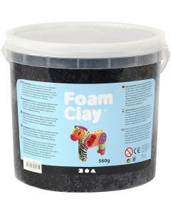 Foam Clay®, black, 560 g/ 1 bucket