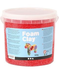 Foam Clay®, red, 560 g/ 1 bucket