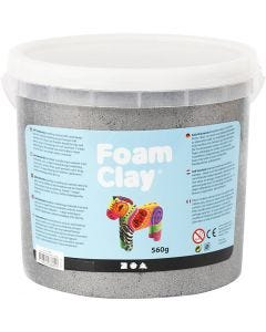 Foam Clay®, metallic, silver, 560 g/ 1 bucket