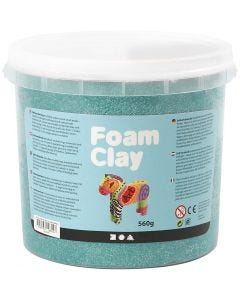 Foam Clay®, dark green, 560 g/ 1 bucket