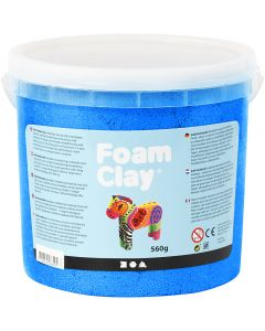 Foam Clay®, metallic, blue, 560 g/ 1 bucket