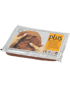Self-Hardening Clay, terracotta, 1000 g/ 1 pack